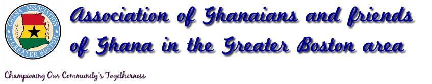 GAGB - Association of Ghanaians in Greater Boston